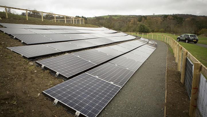 National Trust Installs Modern Art Solar Array In North